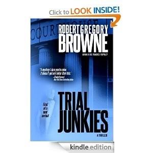 Okładka książki Trial Junkies