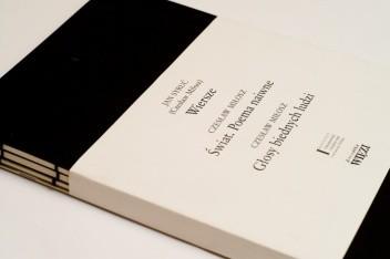 Okładka książki Wiersze. Świat. Poema naiwne. Głosy biednych ludzi