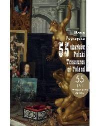 Okładka książki 55 skarbów Polski