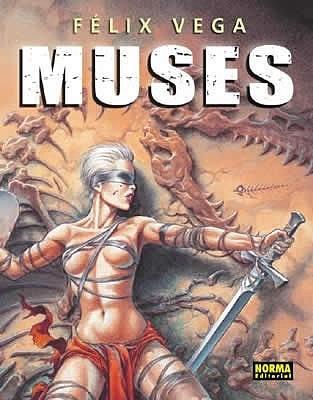 Okładka książki Muses - el arte de Félix Vega