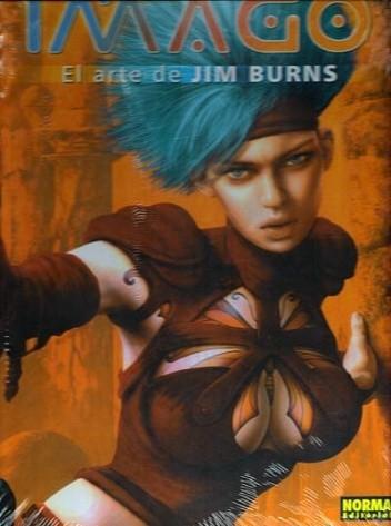 Okładka książki Imago - El arte de Jim Burns