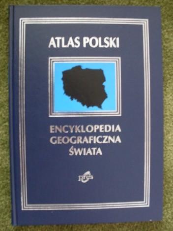 Okładka książki Atlas Polski  wyd. PRES