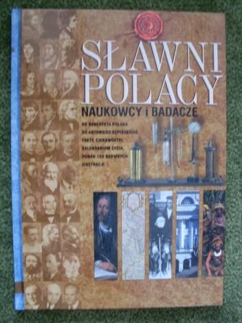 Okładka książki Sławni polacy - naukowcy i badacze