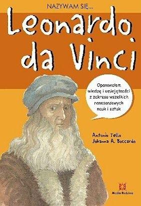 Okładka książki Nazywam się... Leonardo da Vinci