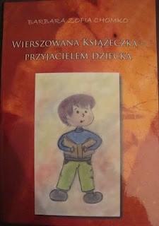 Okładka książki Wierszowana książeczka - przyjacielem dziecka