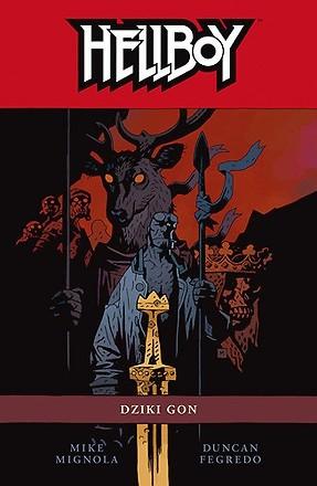 Okładka książki Hellboy: Dziki Gon