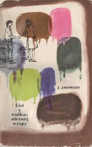 Okładka książki List z wulkanicznej wyspy