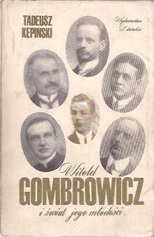 Okładka książki Witold Gombrowicz i świat jego młodości