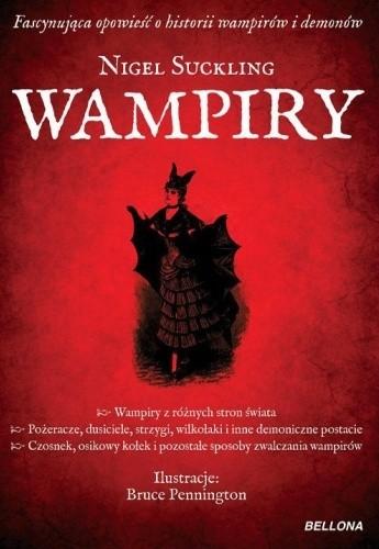 Okładka książki Wampiry