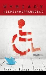 Okładka książki Wymiary niepełnosprawności