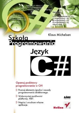 Okładka książki Język C#  Szkoła programowania
