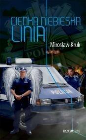 Okładka książki Cienka niebieska linia