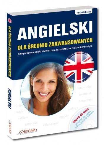 Okładka książki Angielski dla średnio zaawansowanych