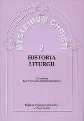Okładka książki Historia liturgii