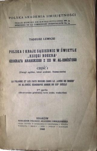 Okładka książki Polska i kraje sąsiednie w świetle