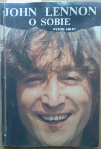 Okładka książki John Lennon o sobie