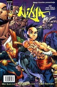Okładka książki Ninja Boy, cz.1