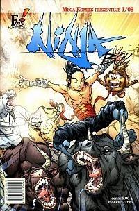 Okładka książki Ninja Boy, cz.3