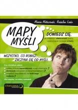 Okładka książki Mapy myśli. Dowiedz się, jak zwiększyć efektywność pracy i poznaj język swojego umysłu.