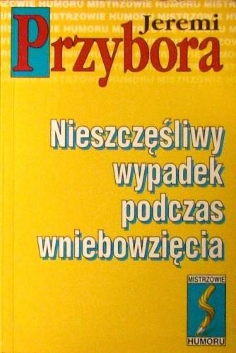 Okładka książki Nieszczęśliwy wypadek podczas wniebowzięcia