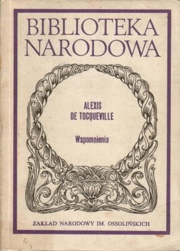 Wspomnienia - Alexis de Tocqueville