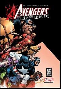 Okładka książki Avengers Disassembled