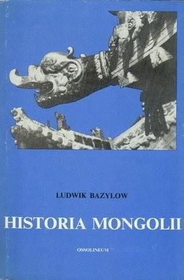 Okładka książki Historia Mongolii