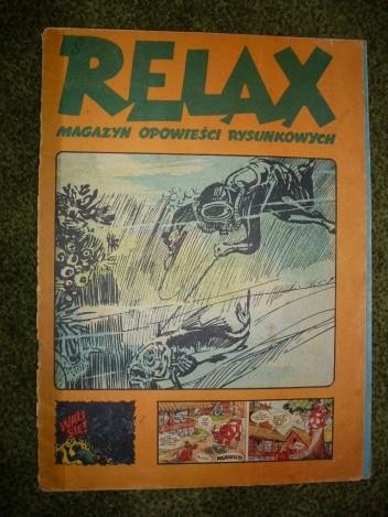 Okładka książki Relax 8 - magazyn opowieści rysunkowych