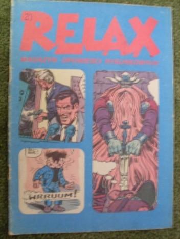 Okładka książki Relax 20 - magazyn opowieści rysunkowych