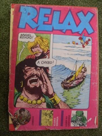 Okładka książki Relax 3 - magazyn opowieści rysunkowych