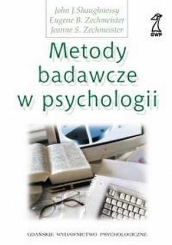 Okładka książki Metody badawcze w psychologii