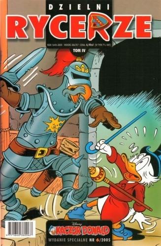 Okładka książki Kaczor Donald - Wydanie specjalne #6 - Dzielni rycerze