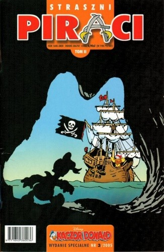 Okładka książki Kaczor Donald - Wydanie Specjalne - 7 - (3/2005) Straszni piraci
