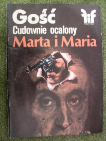 Okładka książki Gość. Cudownie ocalony. Marta i Maria