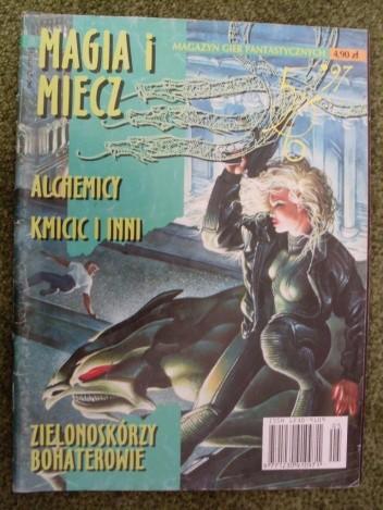 Okładka książki Magia i miecz 5/6' 97 (41/42)