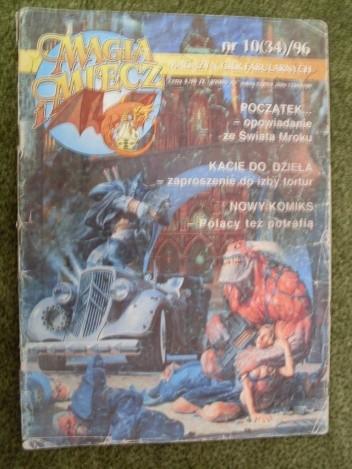 Okładka książki Magia i miecz 10 (34) /96