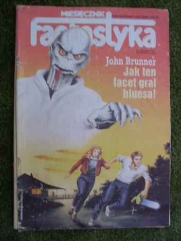 Okładka książki Miesięcznik Fantastyka 84 (9/1989)