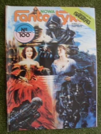Okładka książki Nowa Fantastyka 100 (1/ 1991)