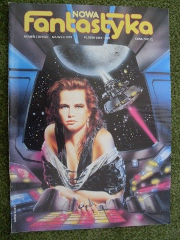 Okładka książki Nowa Fantastyka 102 (3/1991)