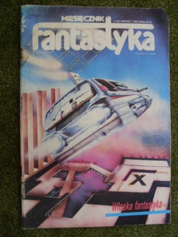 Okładka książki Miesięcznik Fantastyka 42 (3/1986)