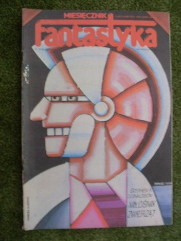 Okładka książki Miesięcznik Fantastyka 43 (4/1986)