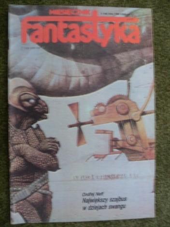 Okładka książki Miesięcznik Fantastyka 44 (5/1986)