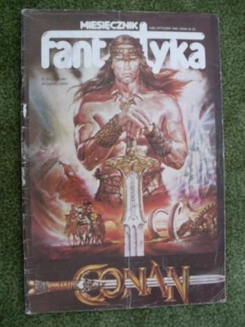 Okładka książki Miesięcznik Fantastyka, nr 28 (1/1985)