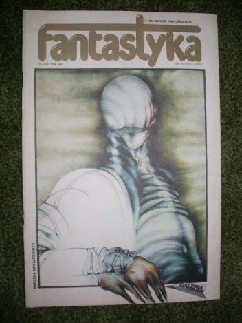 Okładka książki Miesięcznik Fantastyka, nr 30 (3/1985)