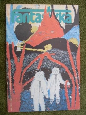 Okładka książki Miesięcznik Fantastyka 72 (9/1988)