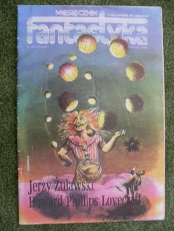 Okładka książki Miesięcznik Fantastyka 38 (11/1985)