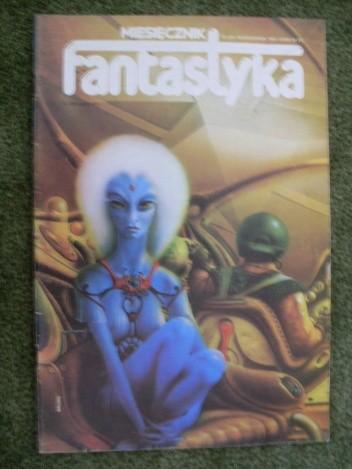 Okładka książki Miesięcznik Fantastyka 25 (10/1984)