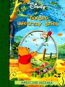 Okładka książki Kubuś Puchatek. Bardzo wietrzny dzień