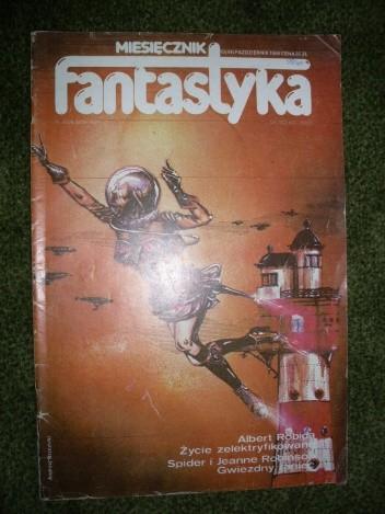 Okładka książki Miesięcznik Fantastyka 49 (10/1986)