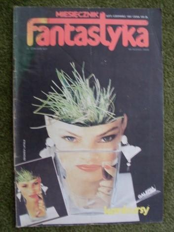 Okładka książki Miesięcznik Fantastyka 57 (6/1987)